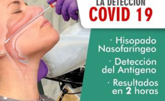 Prueba de antígeno para Covid 19